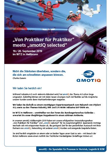 Amotiq Einladung